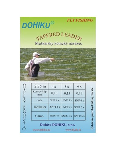 Tapered Leader DOHIKU - Bicolour