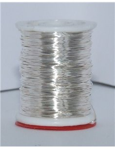 Ribbed Wire - Silver, ND22