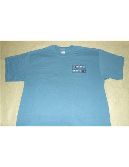 T-shirt , Rainbow - blue