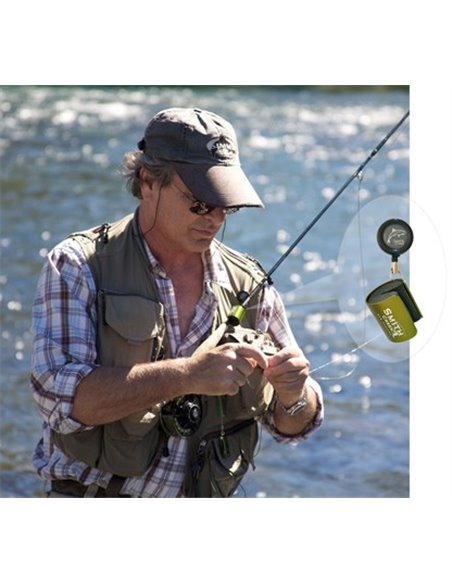 Rod Clip - Wearable fishing rod holder