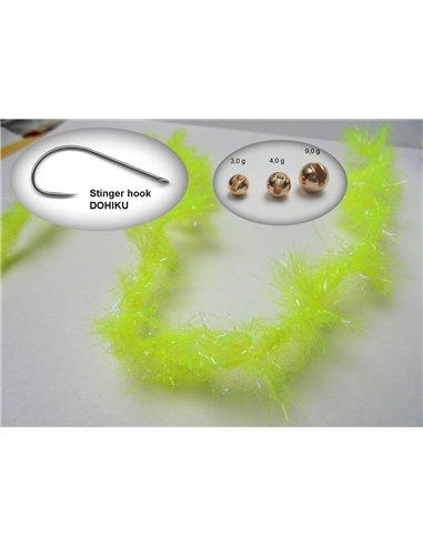 Elephant Cactus UV Chenille /Fluo Yellow