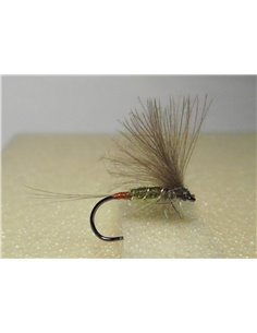 Dark Olive Red-tip Dun, dry fly