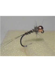 Black Copper Head Jig