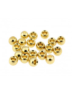 Brass Beads - Gold