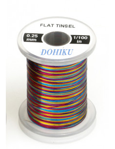 Flat Tinsel,  Multicolor