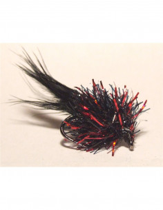 Bronze Spey Hackle Saddle dyed Salmon