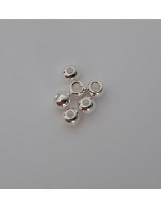 Tungsten Beads - Silver
