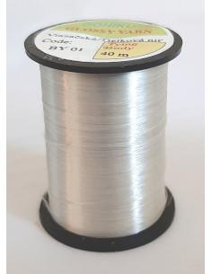 Glossy Yarn - White silver,...