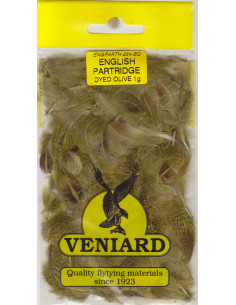Partridge feathears - Olive