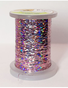 Flat Tinsel - Sparkling Purple