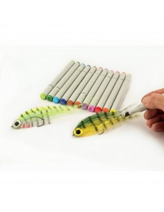Waterproof Double Head Pens