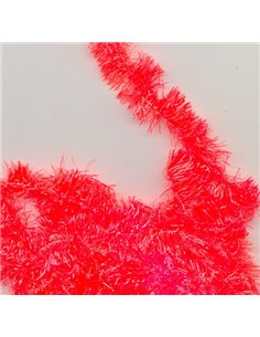 Chenille - Hot Orange