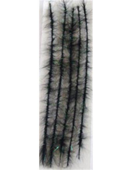 Wicks Body - Angel Hair / Black + Green Angel Hair, WBO 2
