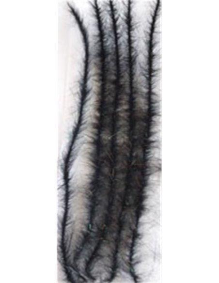 Wicks Body - Black + Peacock Angel Hair, WBO 5