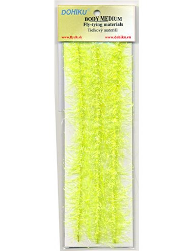 Wicks Fine Hair - Fluo Yellow