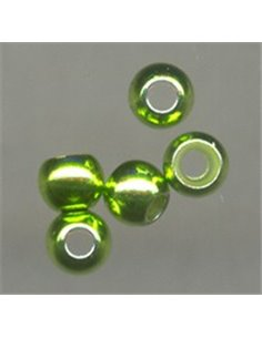 Brass Beads Special - Light-green