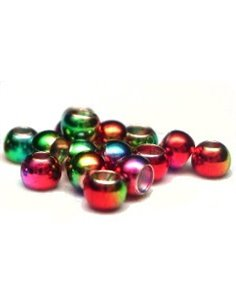 Brass Beads - Rainbow