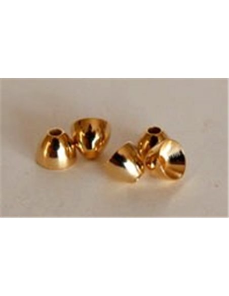 Cone Heads Gold 4.0 mm