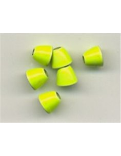 Cone Heads / Chartreuse 4.0 mm