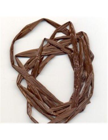 Swiss Straw - Dark Brown, SS02