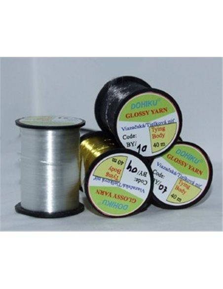 Glossy Yarn - Brownolive, NBY 12