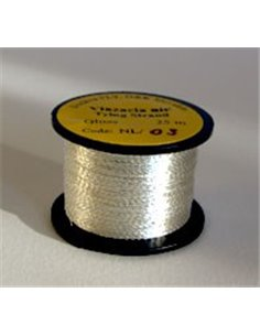 Ribbed thread, NLK 03 - Silver