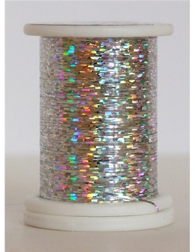 Holographic thread, HO 02 Silver