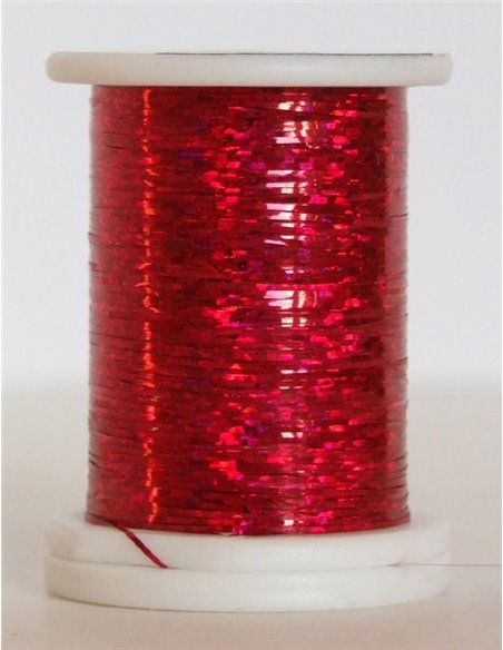 Holographic thread, HO 04 Red