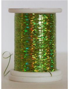 Holographic thread, HO 09 Chartreuse