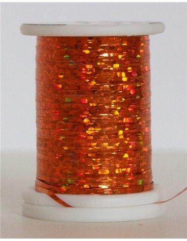 Holographic thread, HO 15 Orange