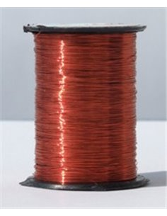 Ribbed Wire - Orange Red, ND09