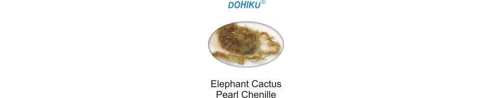 Elephant Cactus Pearl Chenille
